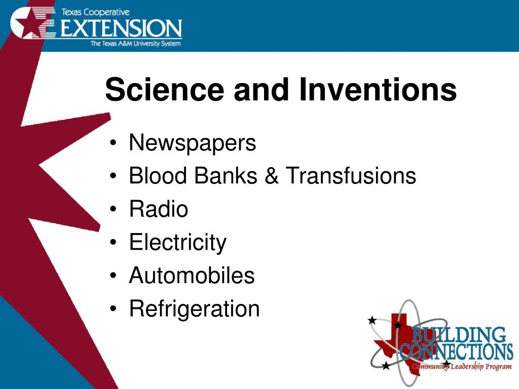 Science and Inventions