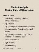 content analysis coding units of observation9