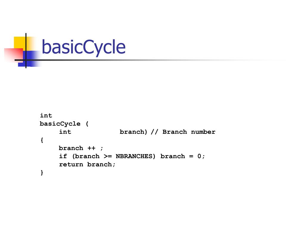 basicCycle