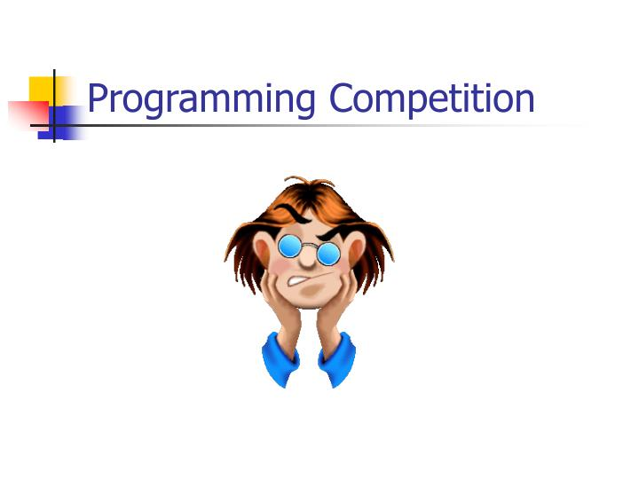 Programming competition