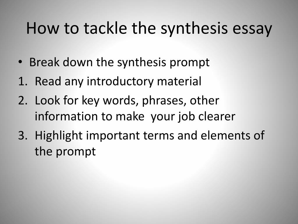title nine synthesis essay