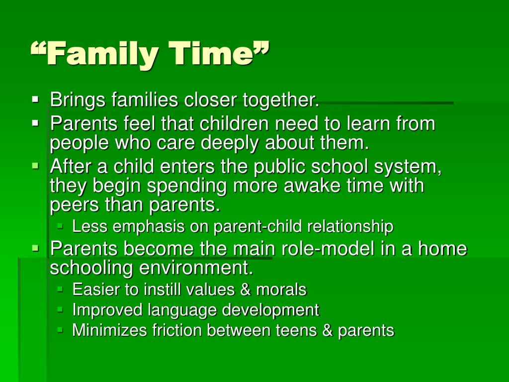 """""""Family Time"""""""