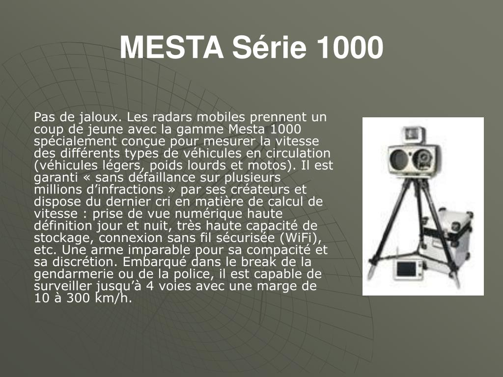 MESTA Série 1000