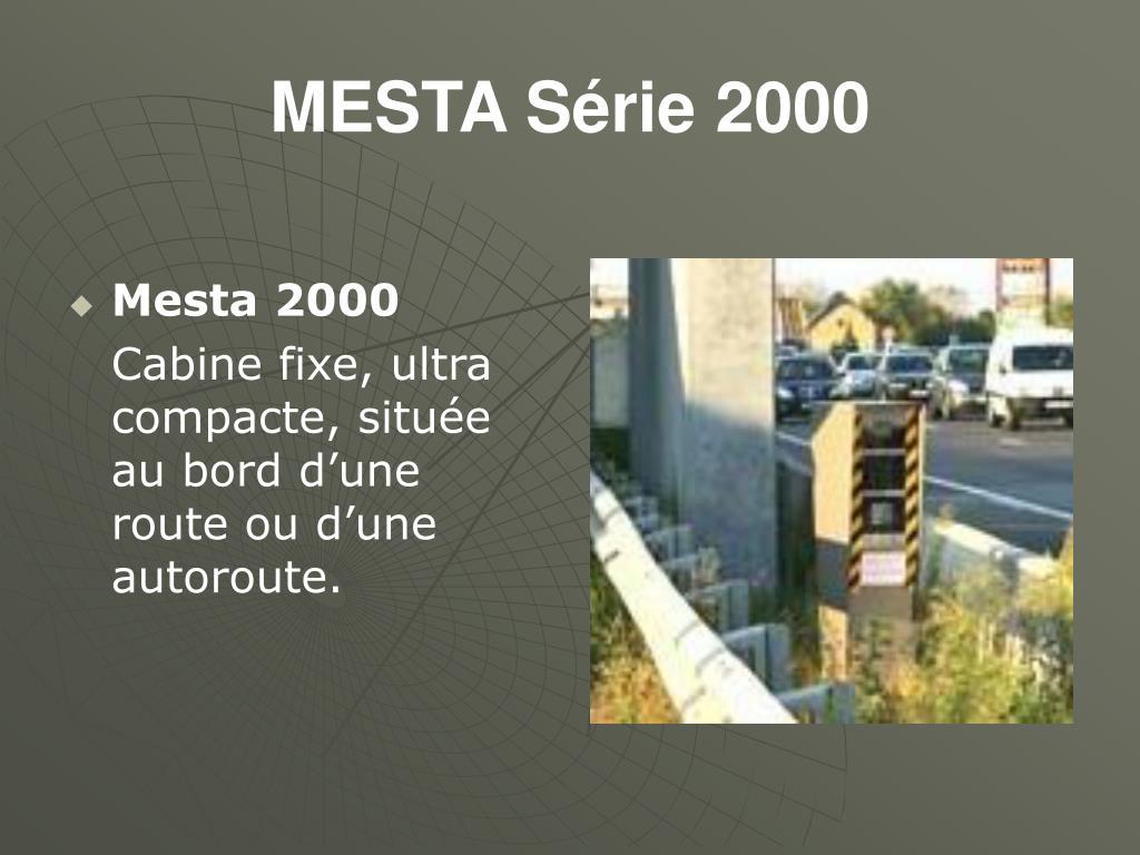 MESTA Série 2000