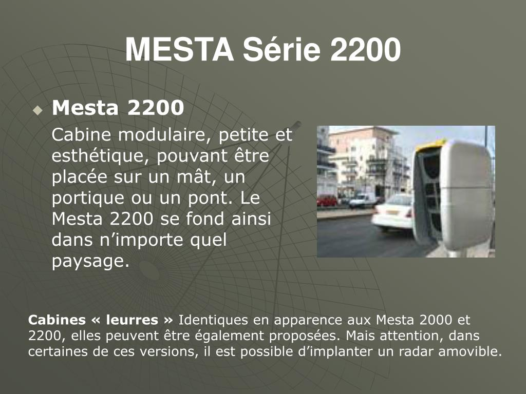 MESTA Série 2200