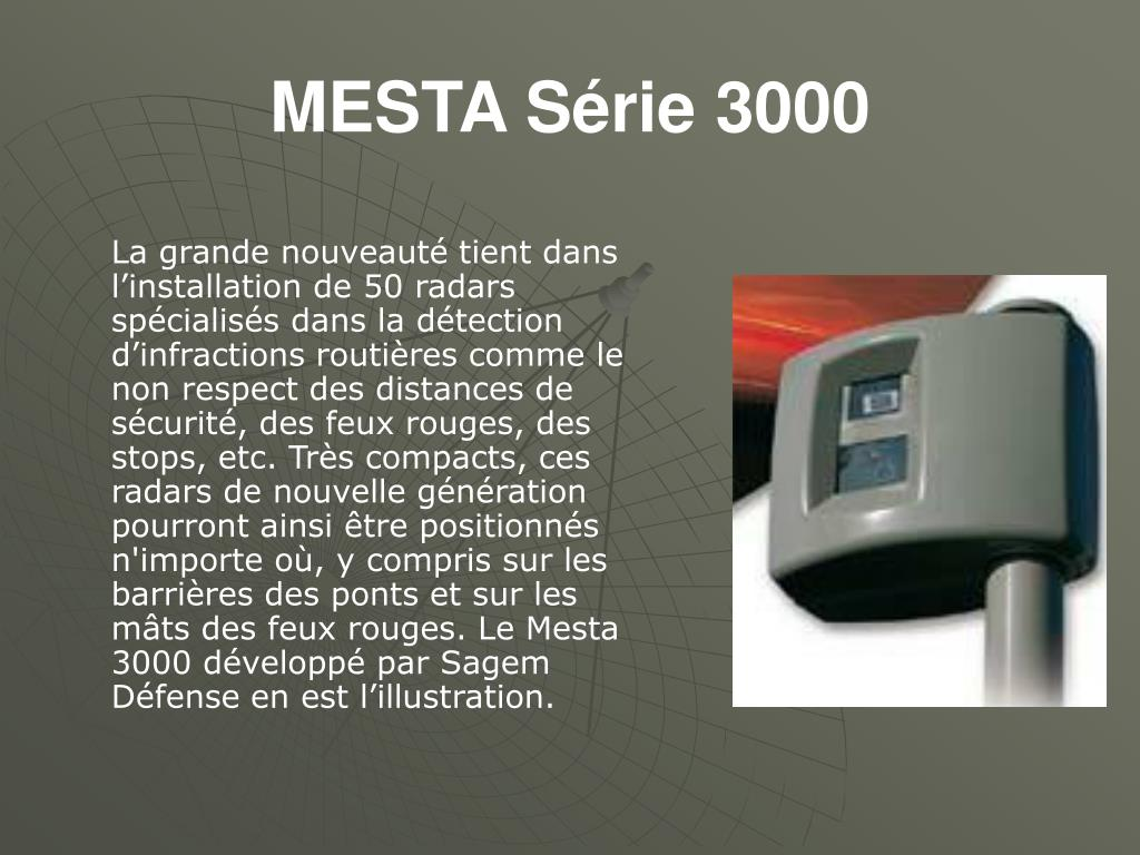 MESTA Série 3000