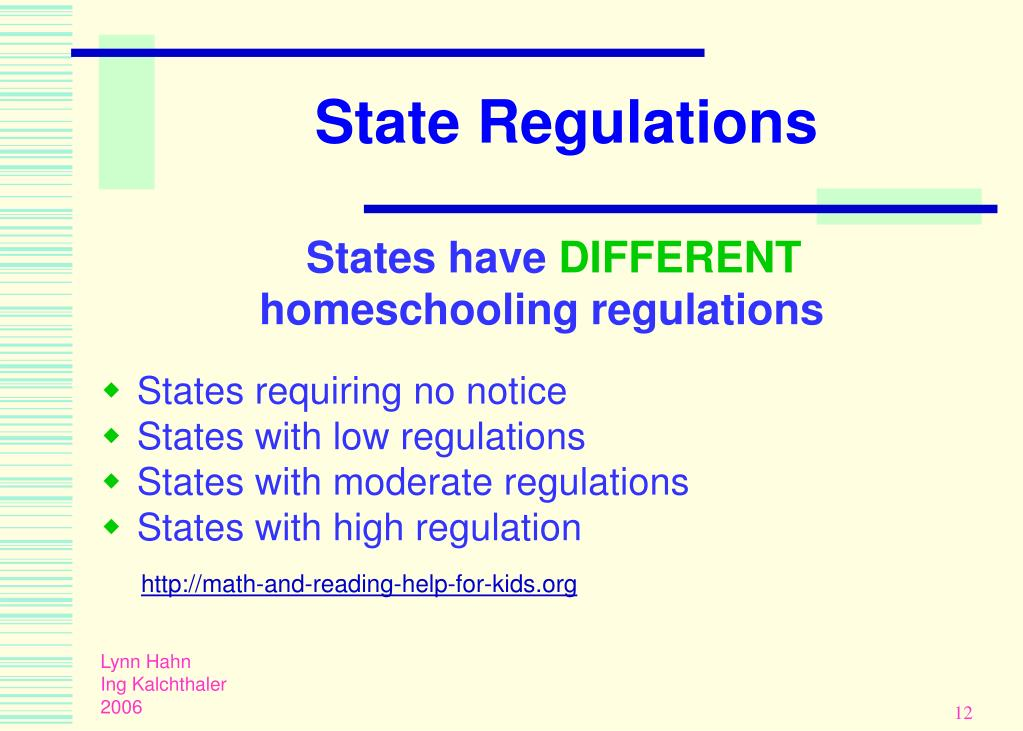 State Regulations