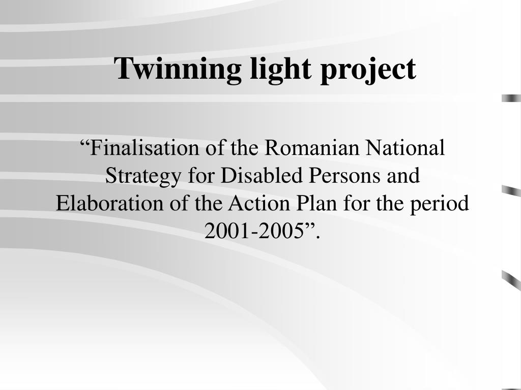 Twinning light project