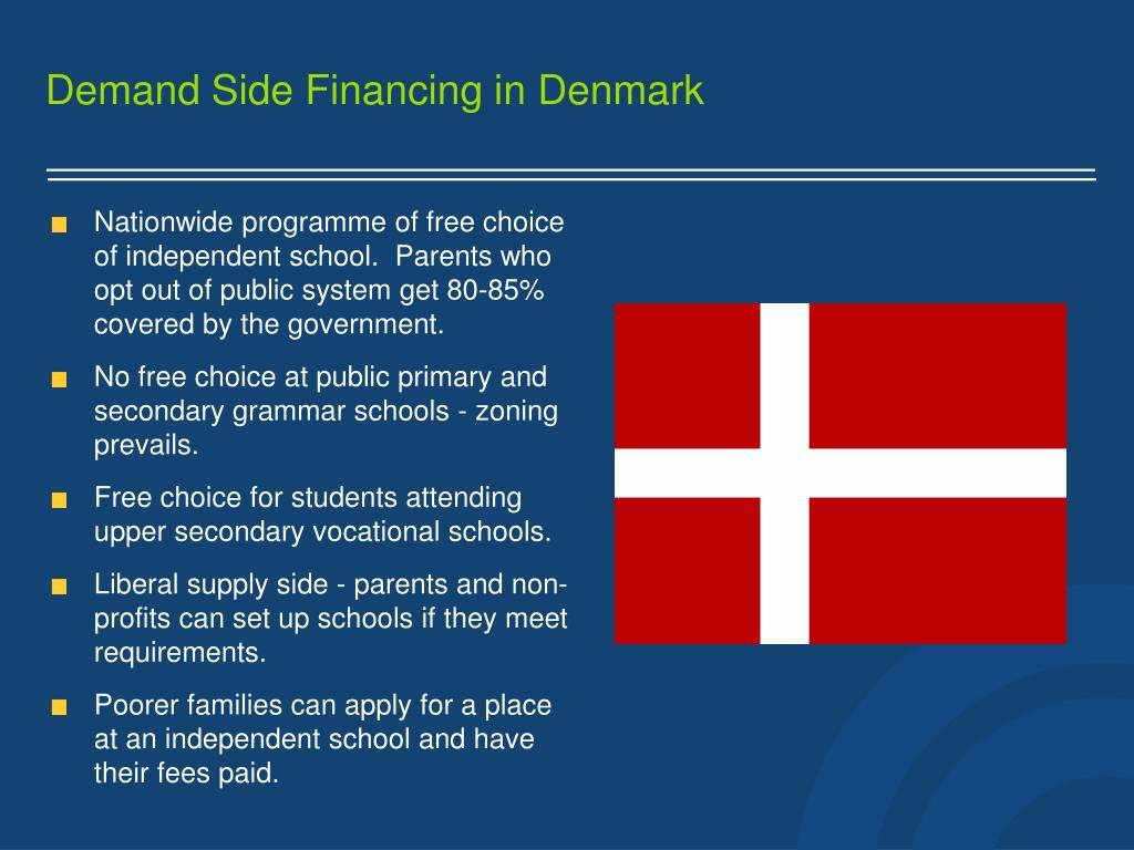 Demand Side Financing in
