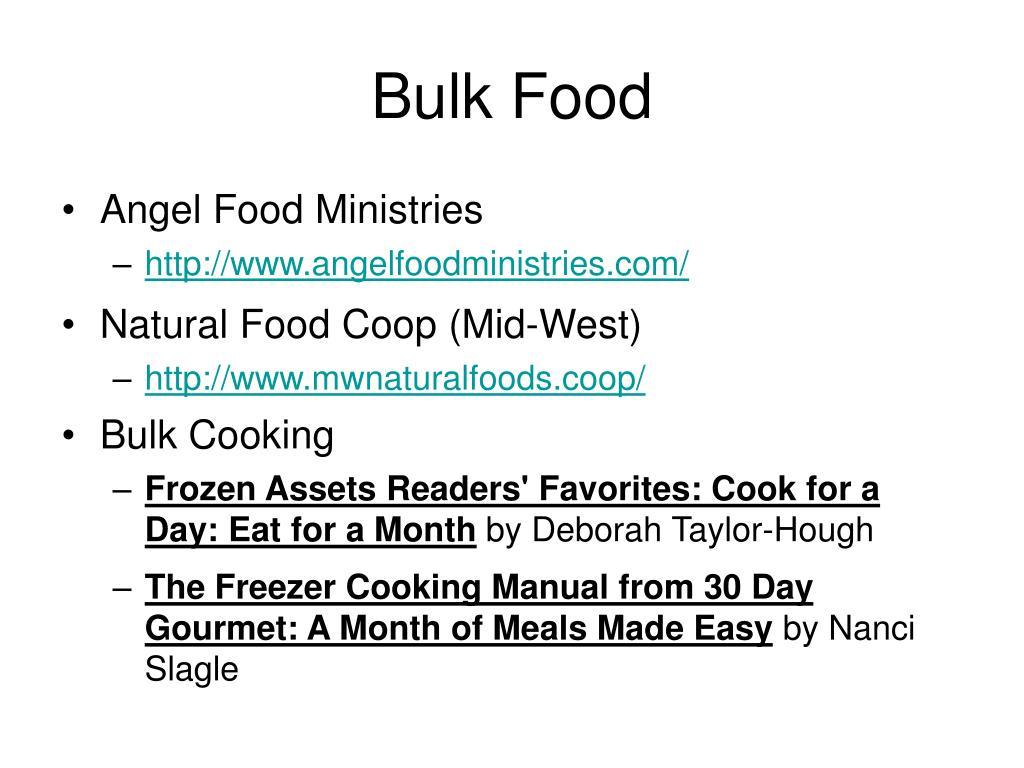 Bulk Food