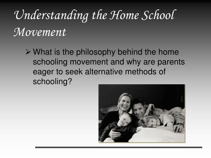 Understanding the home school movement