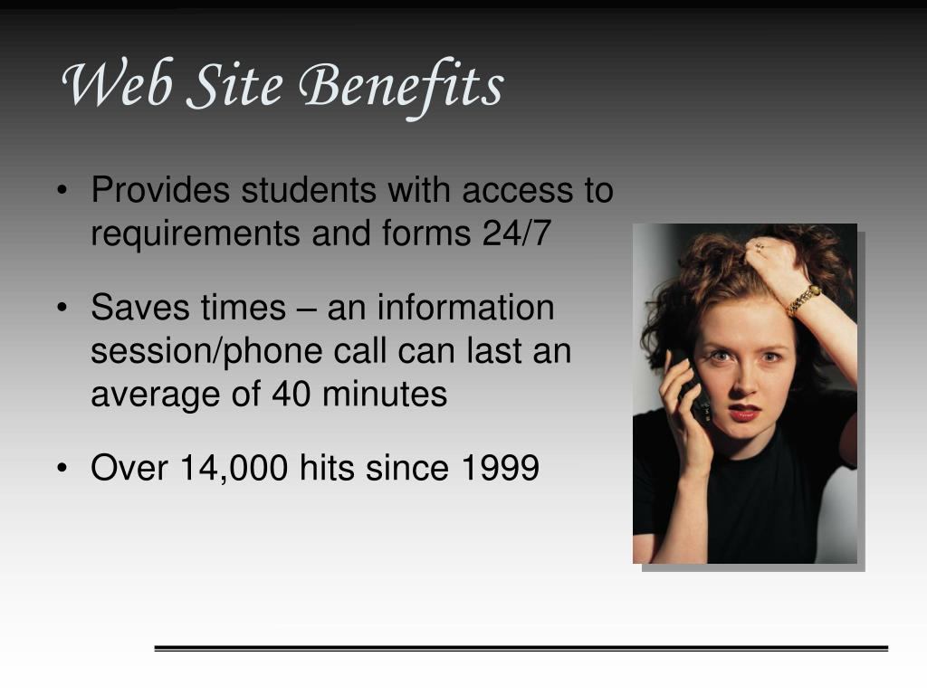 Web Site Benefits