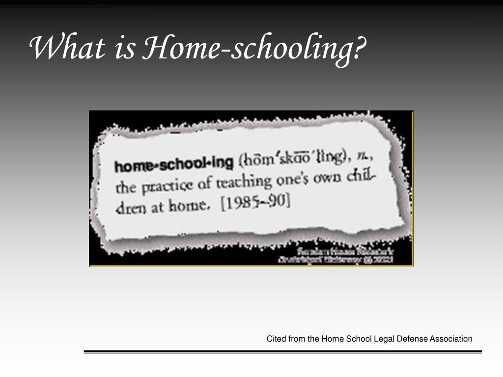 What is Home-schooling?