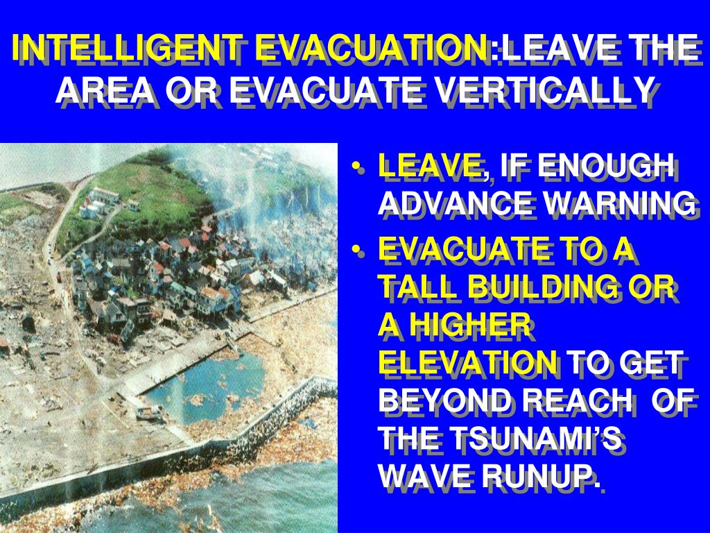 INTELLIGENT EVACUATION