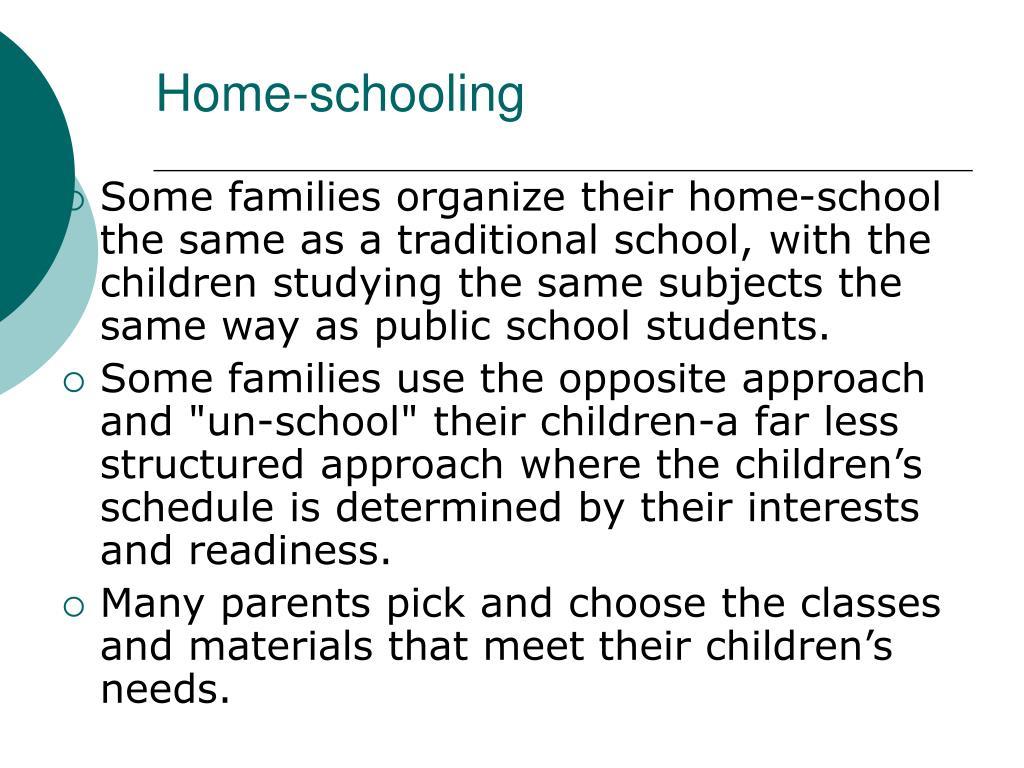 Home-schooling