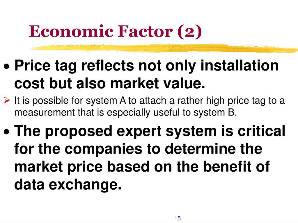 Economic Factor (2)