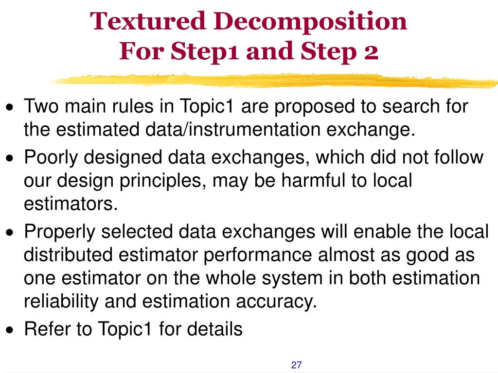 Textured Decomposition
