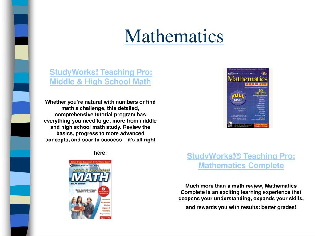 StudyWorks! Teaching Pro: Middle & High School Math