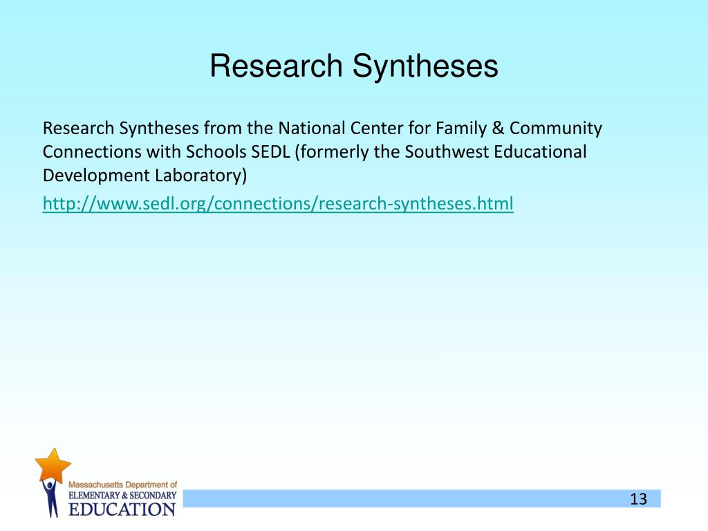 Research Syntheses