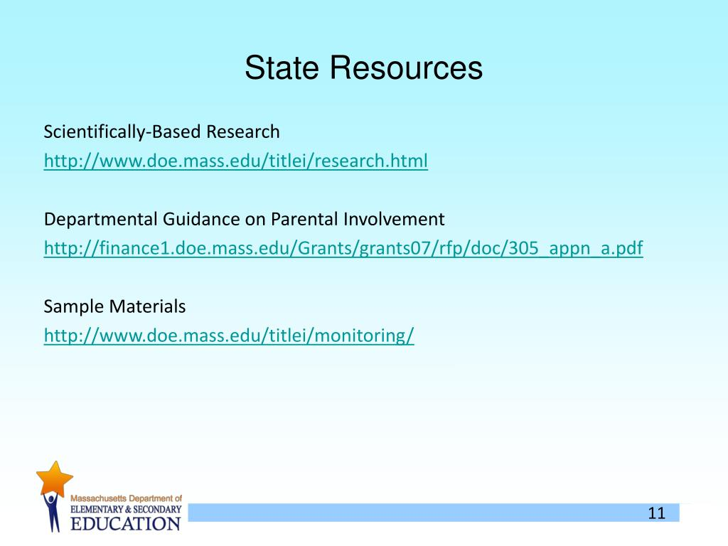 State Resources