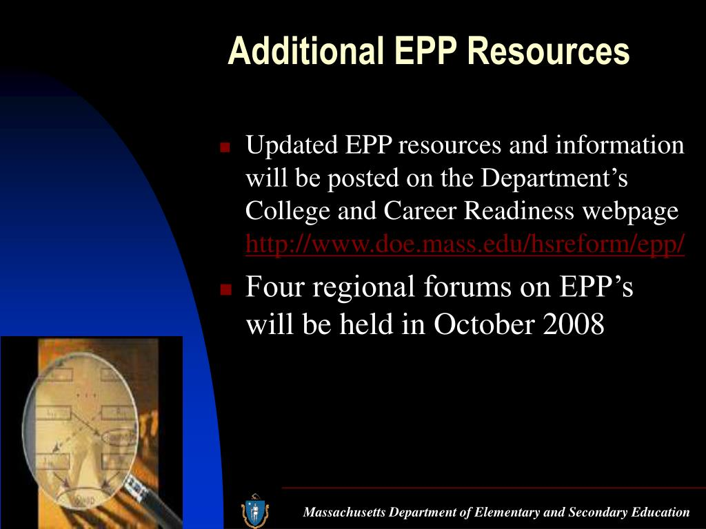 Additional EPP Resources