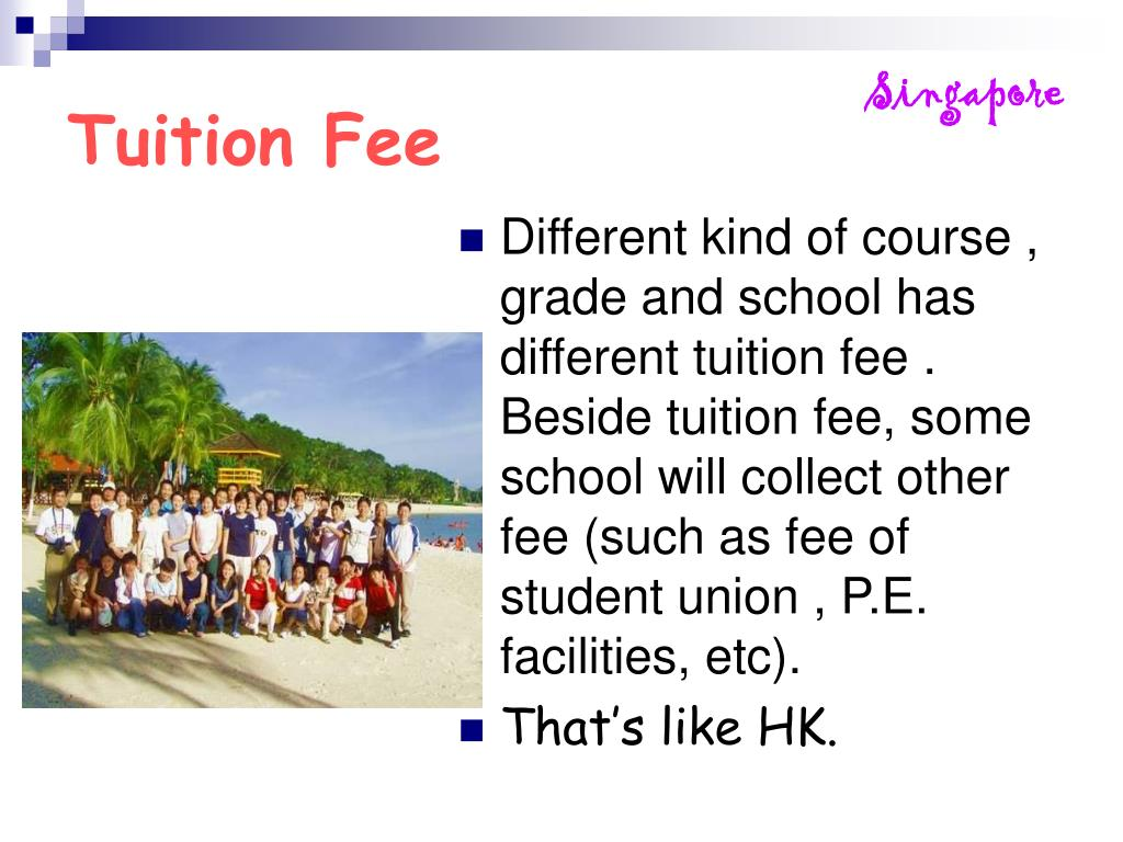 Tuition Fee