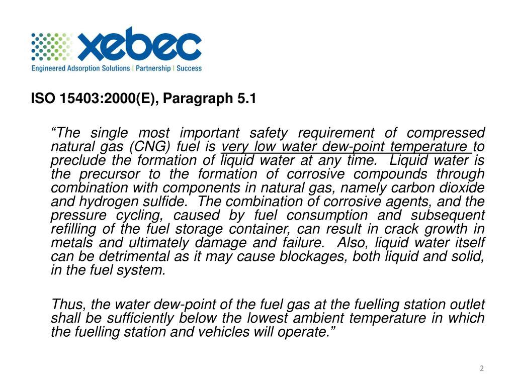 ISO 15403:2000(E), Paragraph 5.1