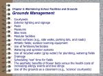 chapter 5 maintaining school facilities and grounds grounds management