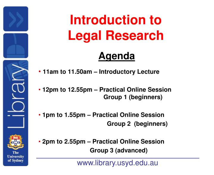 Introduction to legal research l.jpg