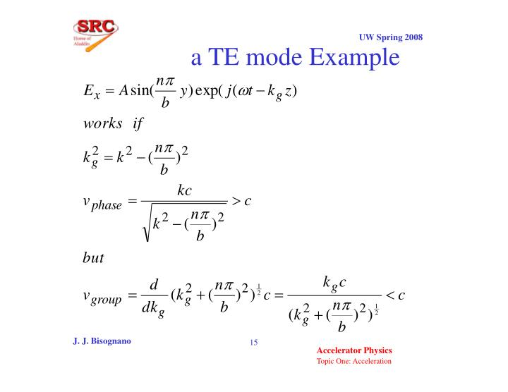 a TE mode Example