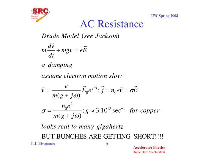 AC Resistance
