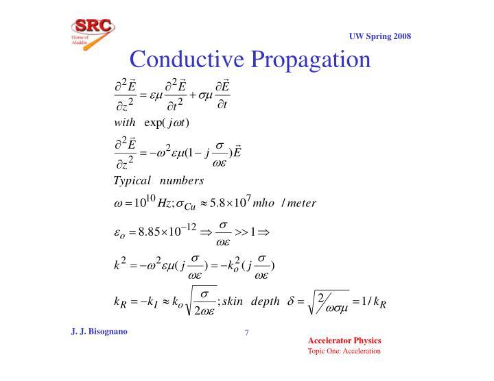 Conductive Propagation