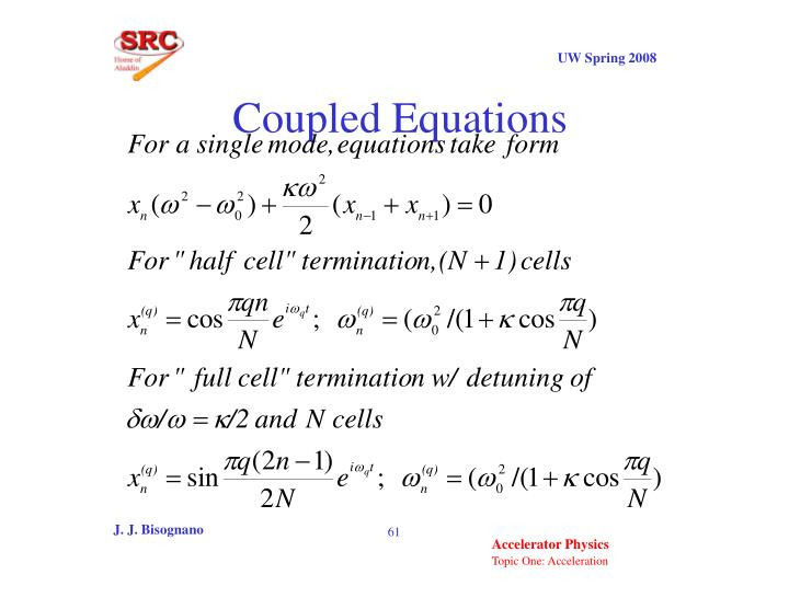 Coupled Equations