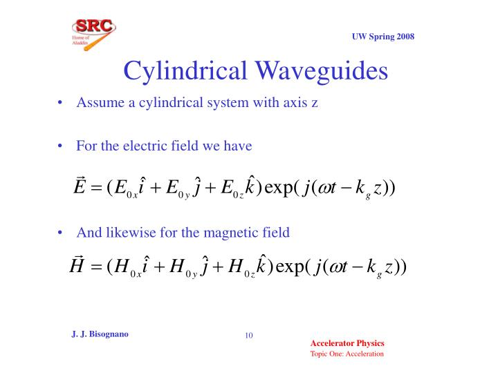 Cylindrical Waveguides