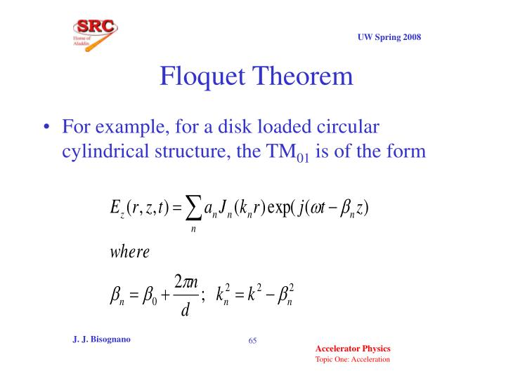 Floquet Theorem