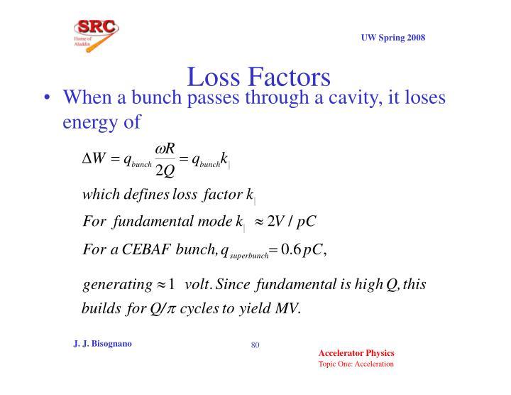 Loss Factors