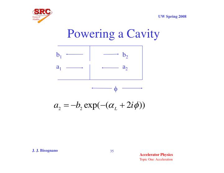 Powering a Cavity