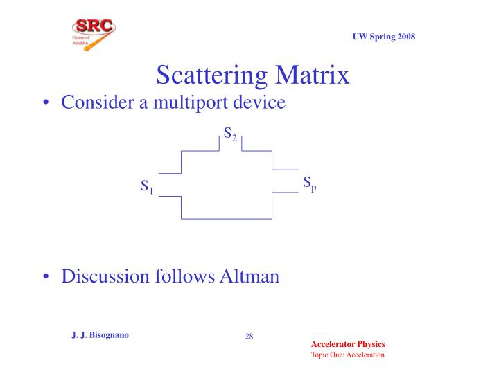 Scattering Matrix