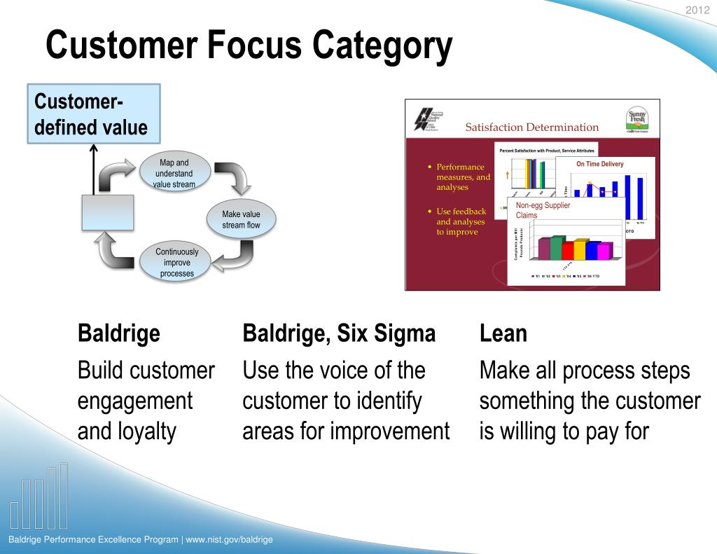 Customer Focus Category