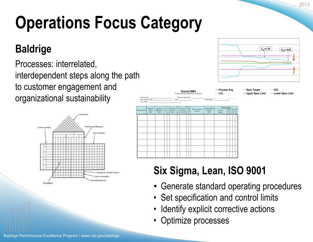Operations Focus Category