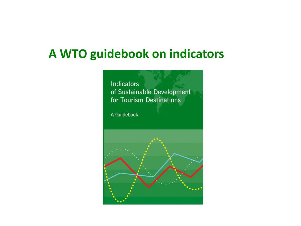A WTO guidebook on indicators