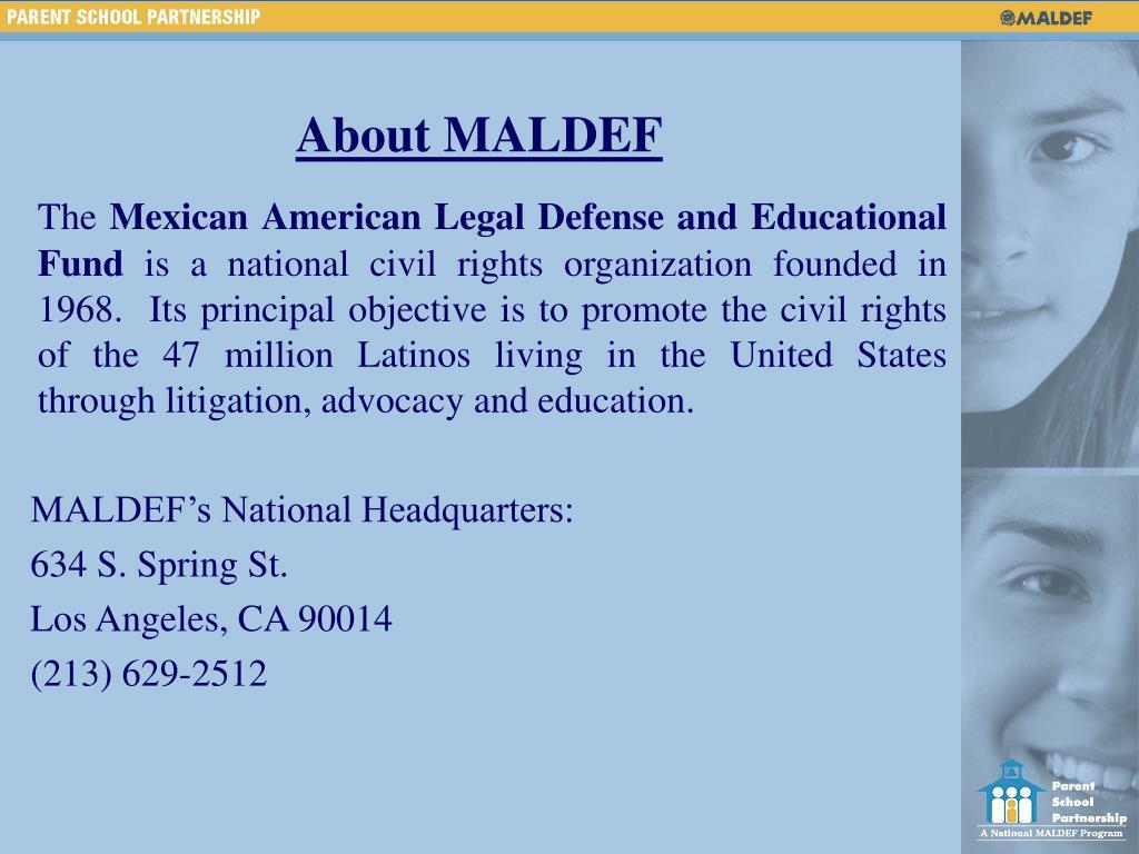 About MALDEF