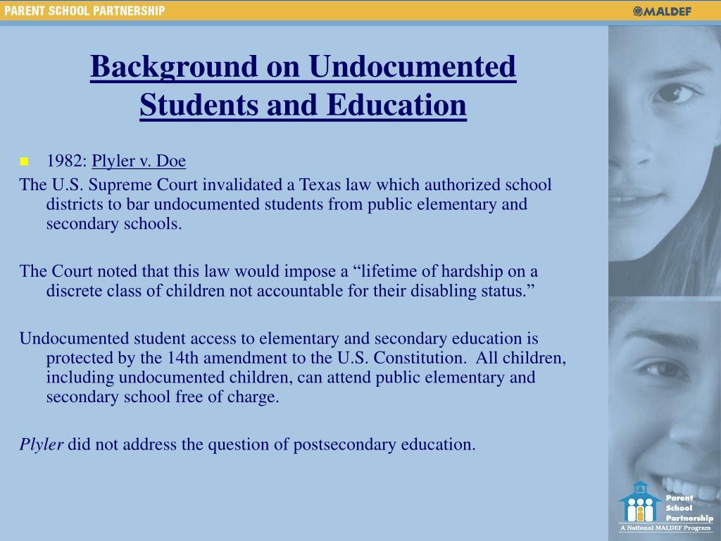 Background on Undocumented