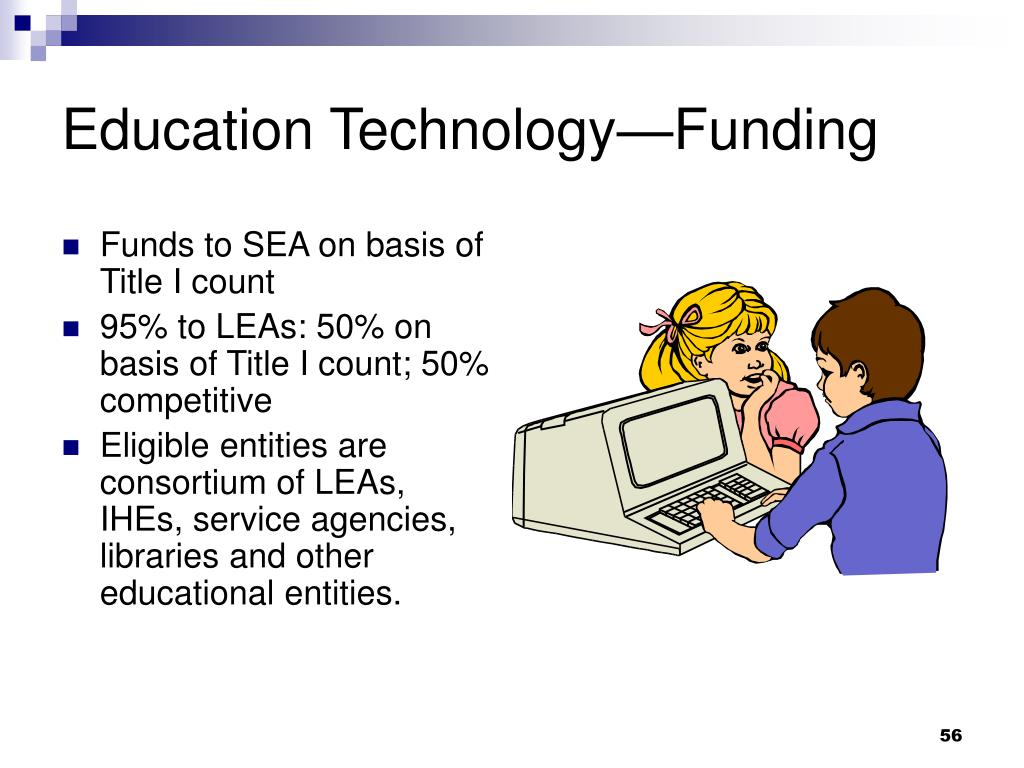 Education Technology—Funding