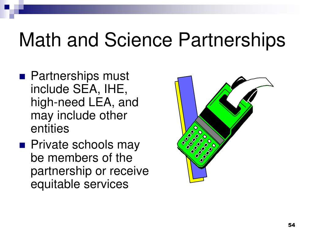 Math and Science Partnerships