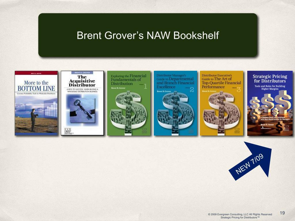 Brent Grover's NAW Bookshelf