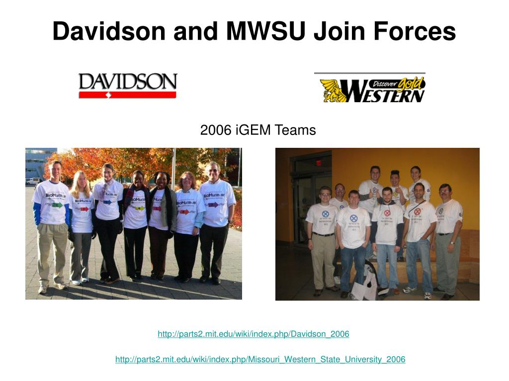 Davidson and MWSU Join Forces