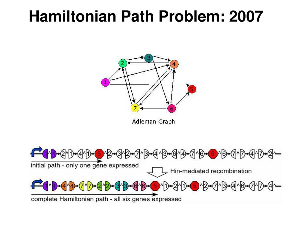 Hamiltonian Path Problem: 2007