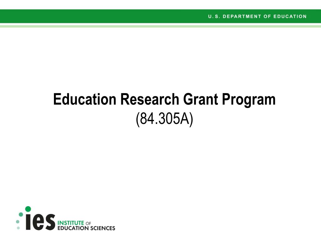 Education Research Grant Program