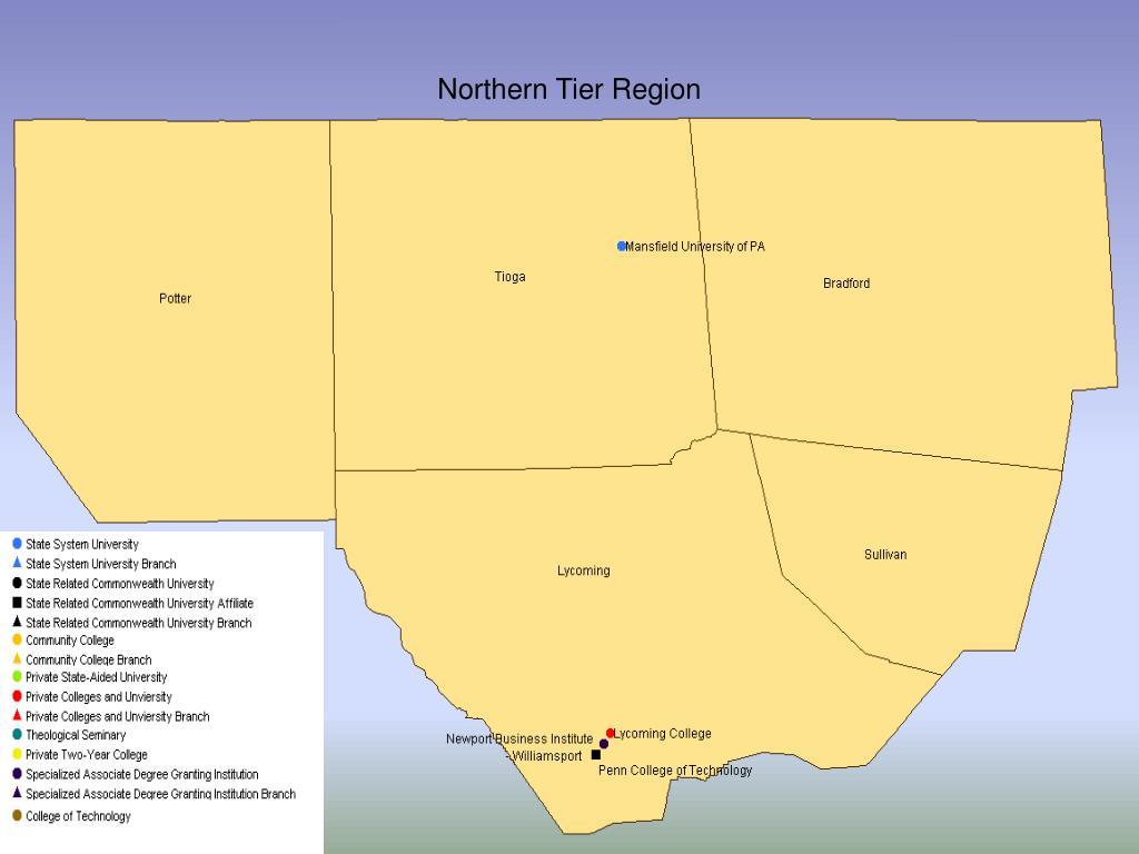 Northern Tier Region